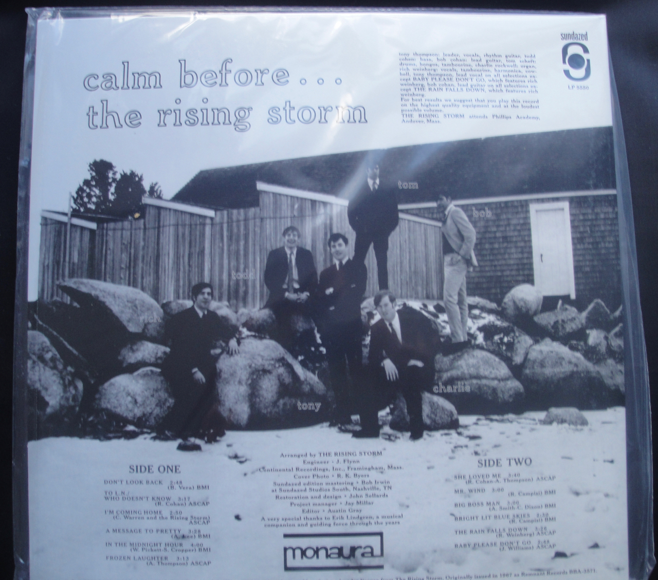 Rising Storm, The - Calm Before... - Sundazed Music, Vinyl, Gatefold, LP, Reissue