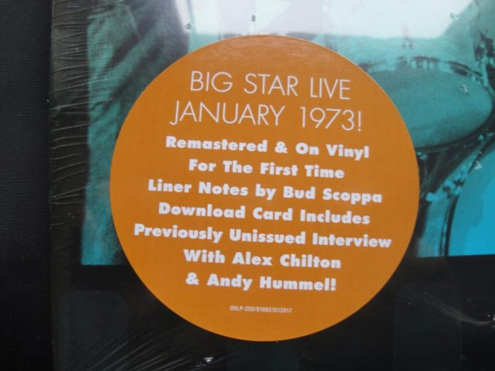 Big Star - Live at Lafayette's Music Room - 2XLP, Vinyl, Remastered, Omnivore, 2017