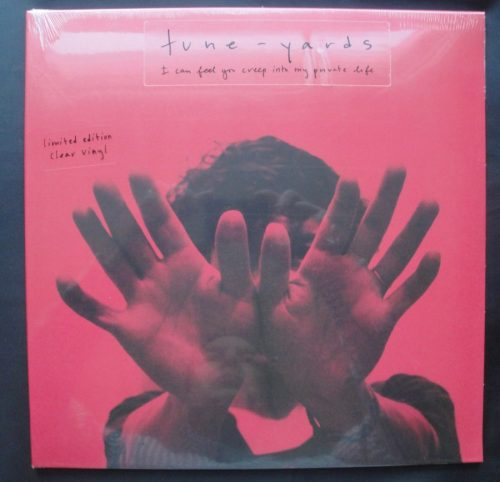 tUnE-yArDs - I Can Feel You Creep Into My Private Life - Ltd Ed Clear Vinyl LP, 4AD, 2018