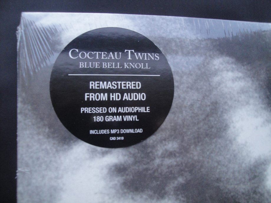 Cocteau Twins - Blue Bell Knoll - Remastered, 180 Gram Vinyl, 4AD, 2014