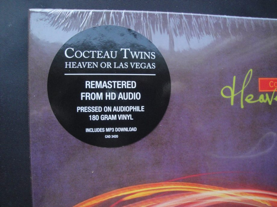 Cocteau Twins - Heaven or Las Vegas - Remastered, 180 Gram, Vinyl, 4AD, 2014