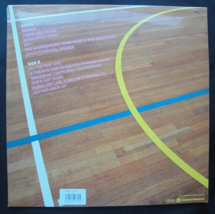 Go! Team - Semicircle - Ltd Ed, 180 Gram, Pink Vinyl, LP, Memphis Industries, 2018