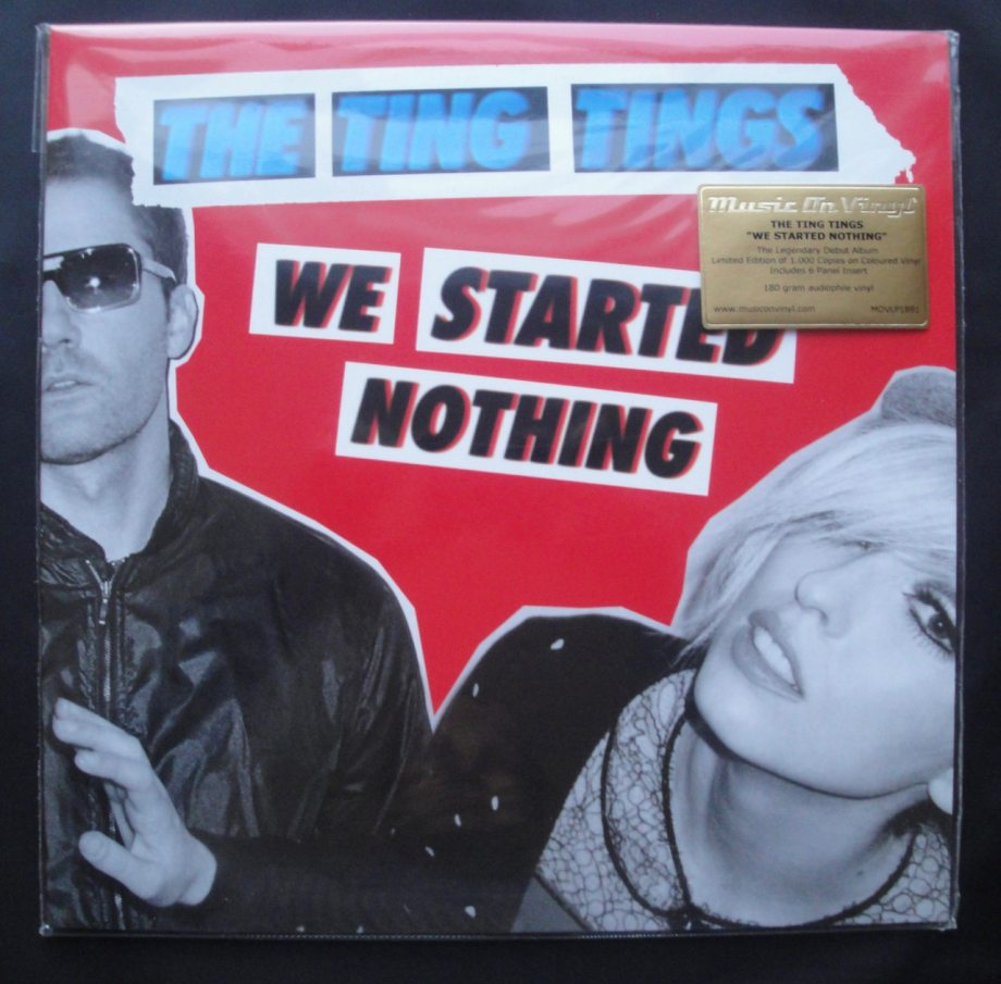 Ting Tings - We Started Nothing - Ltd Ed, Numbered, Colored Vinyl, Reissue, 2018