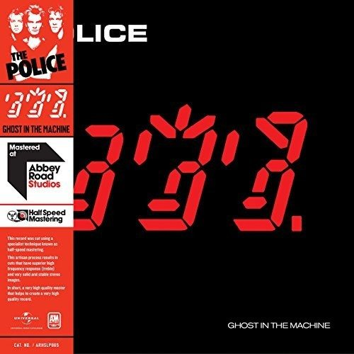 The Police - Ghost In The Machine - Abbey Road Studios Half Speed Mastered, Vinyl, 2018