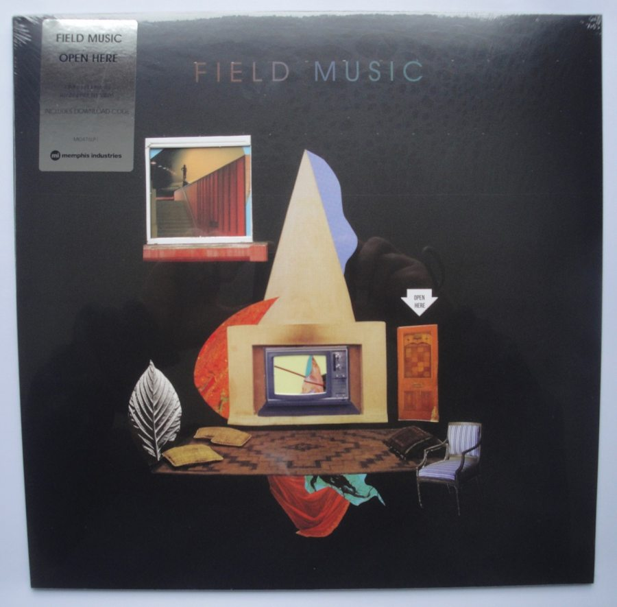 Field Music - Open Here - Indie Only Transparent Vinyl, Memphis Industries, 2018