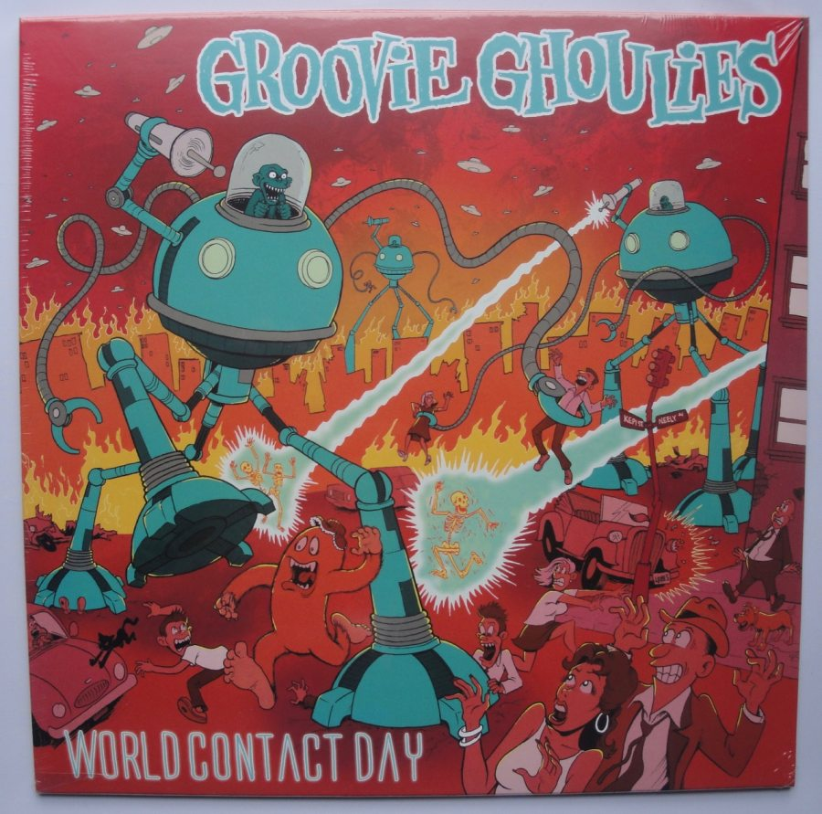 Groovie Ghoulies - World Contact Day - Lookout Records Remaster, Colored Vinyl, 2018