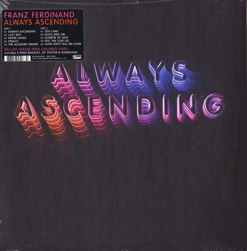 "Franz Ferdinand ""Always Ascending"", Indie Exclusive, 145 Gram, Pink Colored Vinyl, 2018"