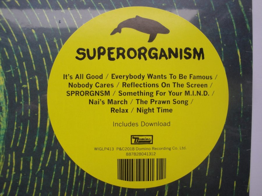 Superorganism - Superorganism - Vinyl LP, Domino Records, 2018