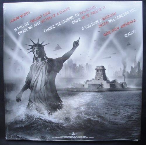 Ministry - Amerikkkant - Ltd Ed White/Gray Swirl Vinyl, Gatefold Cover, Nuclear Blast, 2018