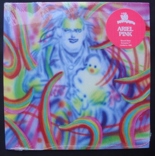"Black Moth Super Rainbow / Ariel Pink - ""Mr No One"" / ""Willing & Able..."" 7"" vinyl single, 2018"