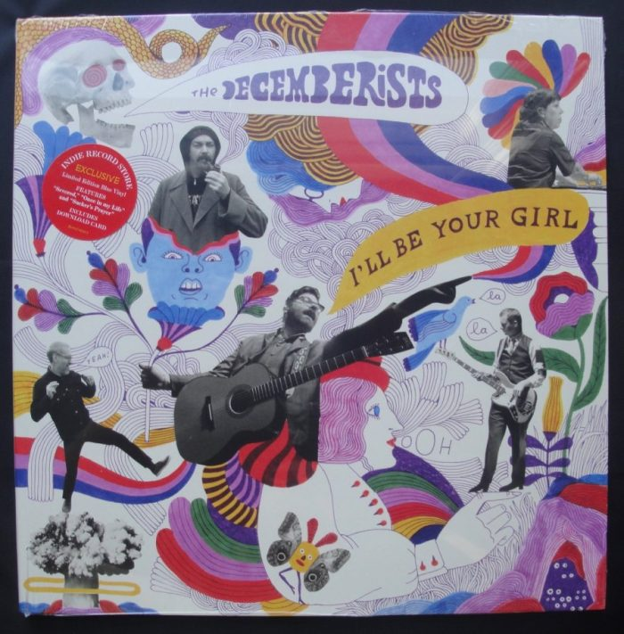 The Decemberists - I'll Be Your Girl - Limited Edition, Blue Colored Vinyl, Capitol, 2018