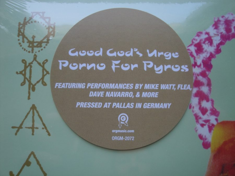 Porno For Pyros - Good God's Urge - Vinyl, LP, Reissue, Org Music, 2018