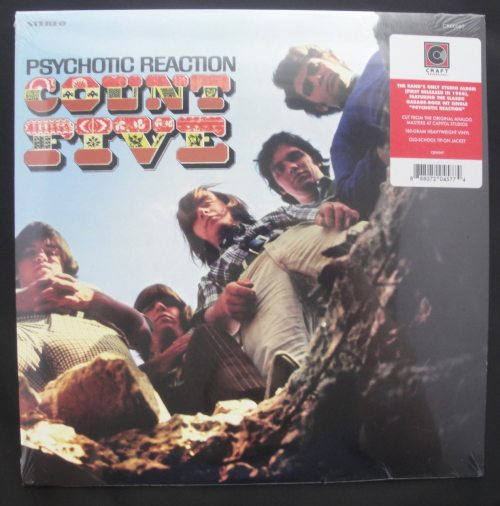 Count Five - Psychotic Reaction - 180 Gram, Vinyl, LP, Reissue, 2018