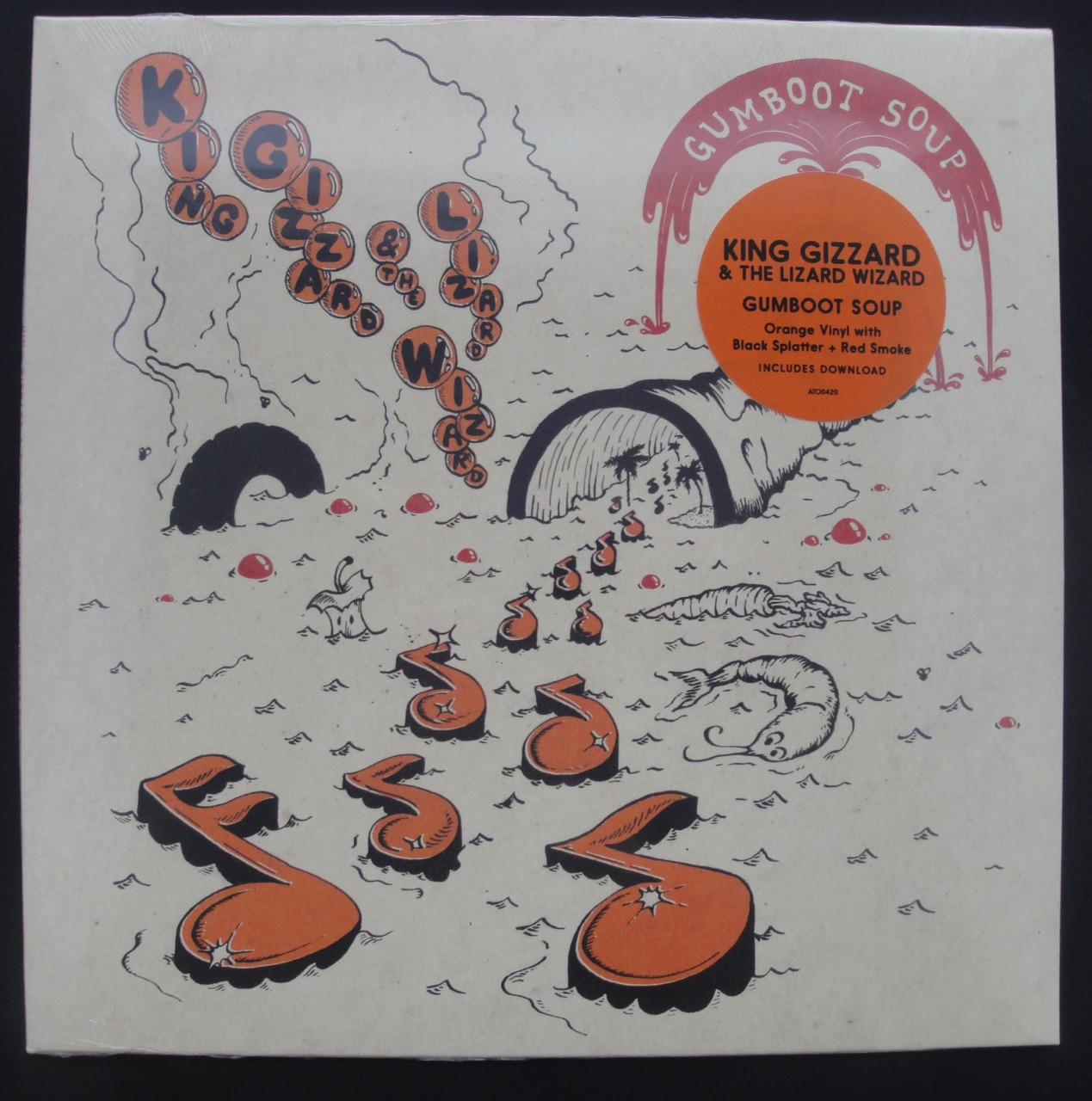 King Gizzard and the Lizard Wizard - Gumboot Soup - Colored Vinyl, LP, 2018