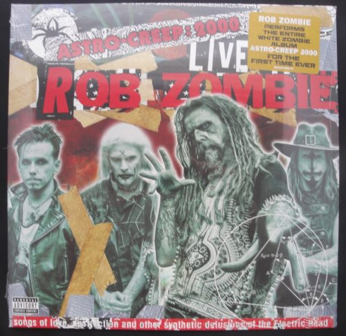 Rob Zombie - Astro-Creep: 2000 Live - Ltd Ed, Vinyl, LP, Geffen, 2018