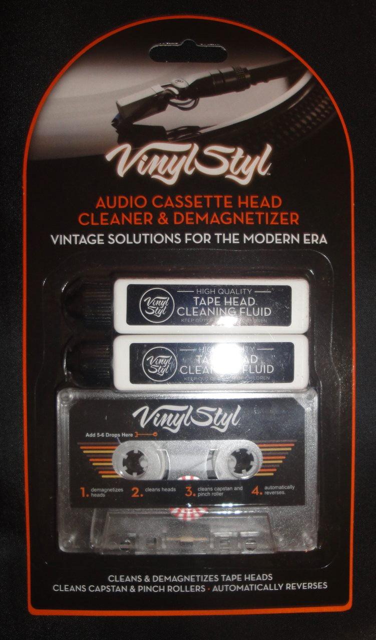 Vinyl Styl Audio Cassette Head Cleaner Amp Demagnetizer