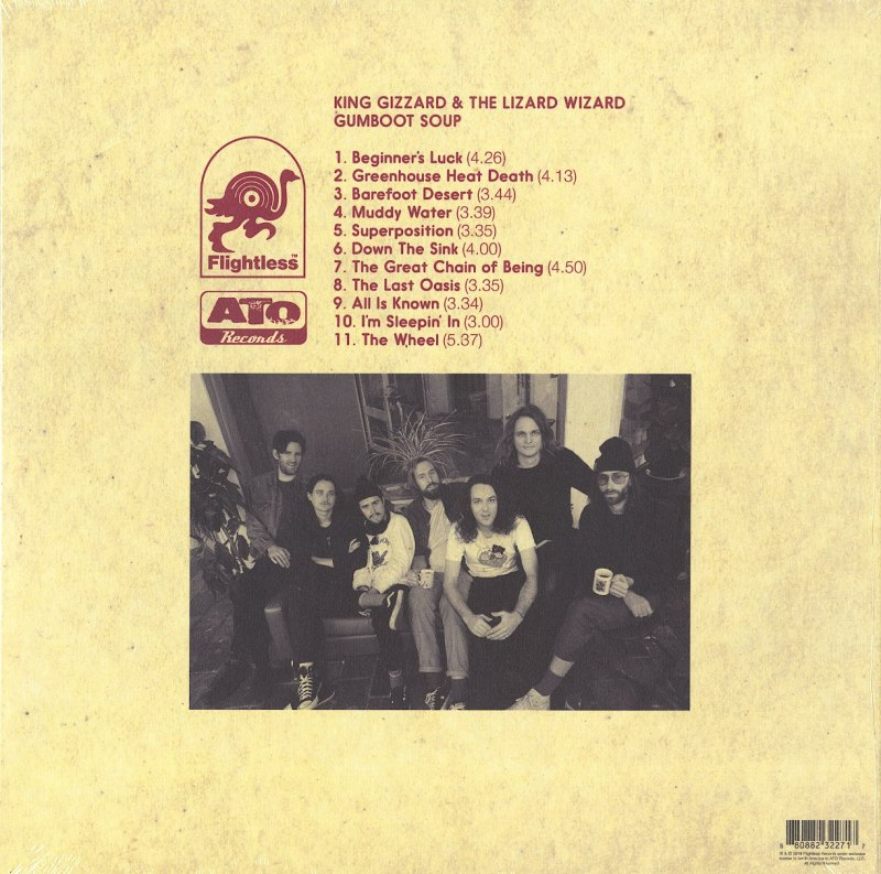 King Gizzard and the Lizard Wizard – Gumboot Soup – Colored Vinyl, LP, ATO Records, 2018