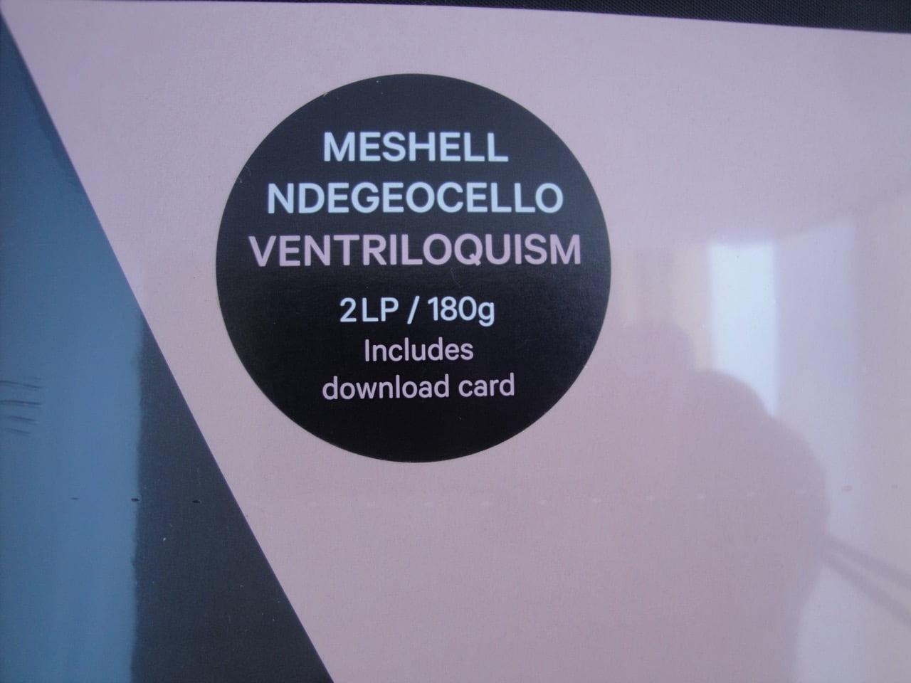 Meshell Ndegeocello - Ventriloquism - 2XLP, Double Vinyl, Naive, 2018