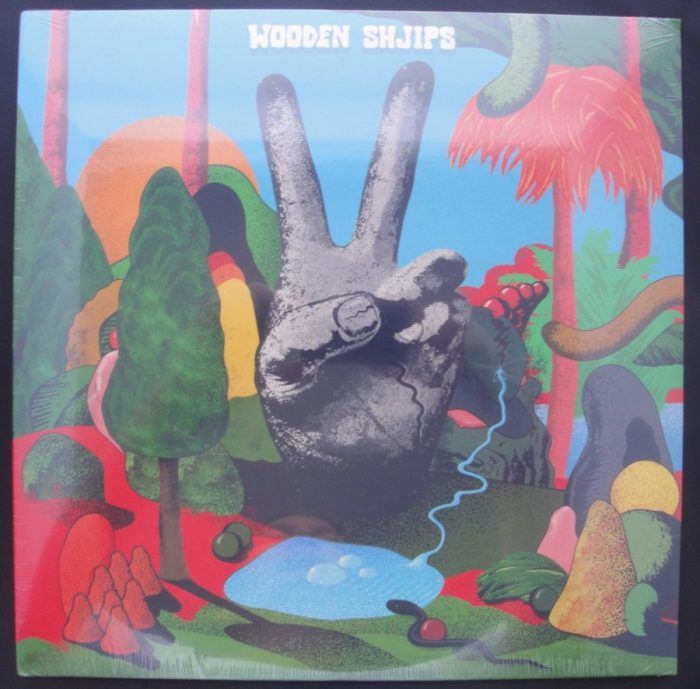 Wooden Shjips - V., Limited Edition Blue and White Colored Vinyl, Psych Rock, Moon Duo, 2018
