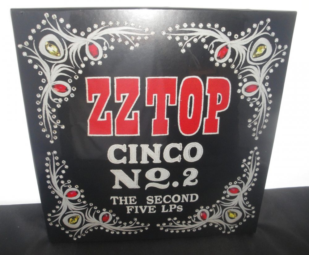 ZZ Top - Cinco No. 2 (The Second 5 LPs) - Vinyl Boxed Set, 2018