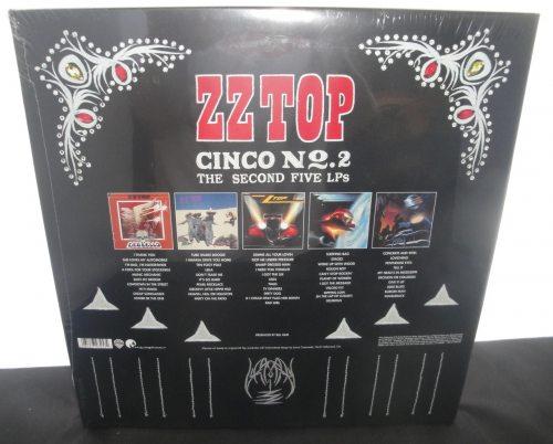 ZZ Top - Cinco No. 2 (The Second 5 LPs) - Vinyl Boxed Set, 2018