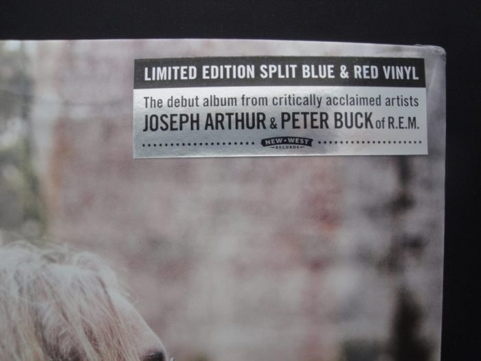 Arthur Buck - Joseph Arthur and Peter Buck (R.E.M.), Ltd Ed, Colored Vinyl, New West, 2018