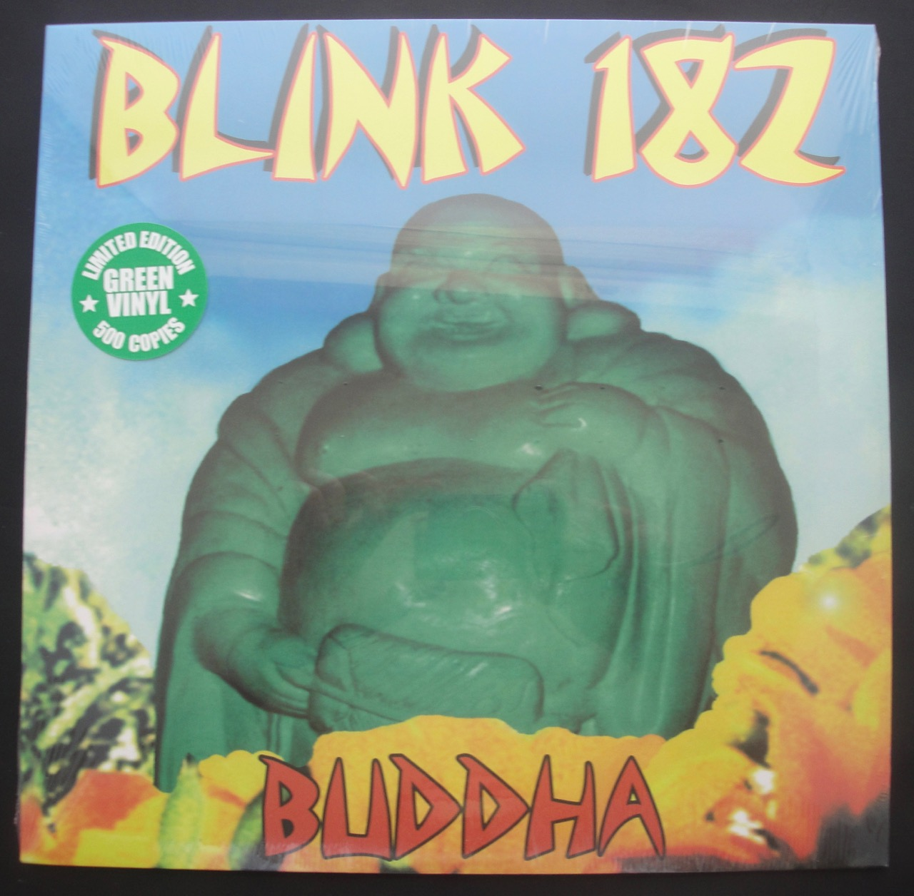 Blink-182 - Buddha - 2018, Limited Edition, Green Colored Vinyl, LP, Kung Fu