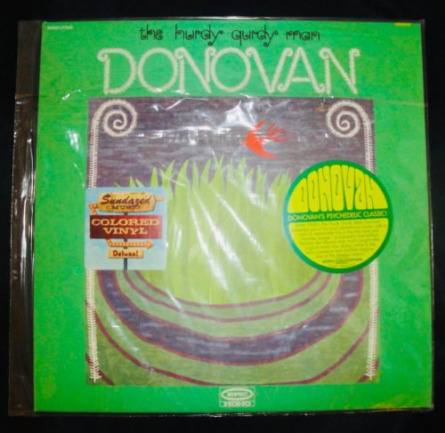 Donovan - Hurdy Gurdy Man - Limited Green Colored Vinyl, LP, Sundazed, 2018