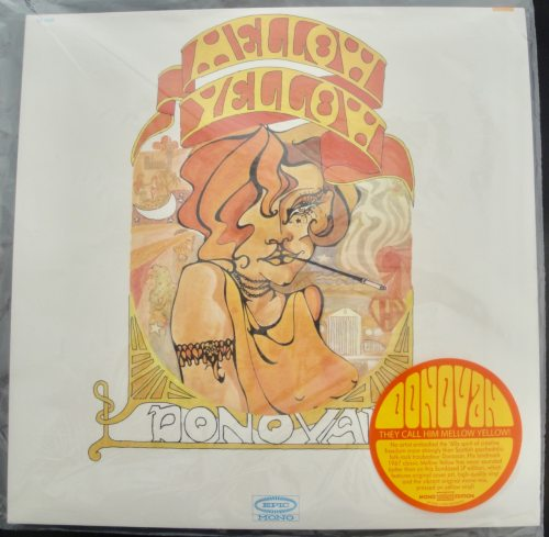 Donovan - Mellow Yellow - Limited Yellow Colored Vinyl, LP, Sundazed, 2018