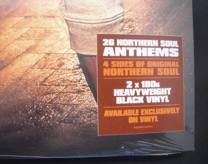 Various Artists - Northern Soul Anthems - 2XLP, Demon Records UK, Import, 2018