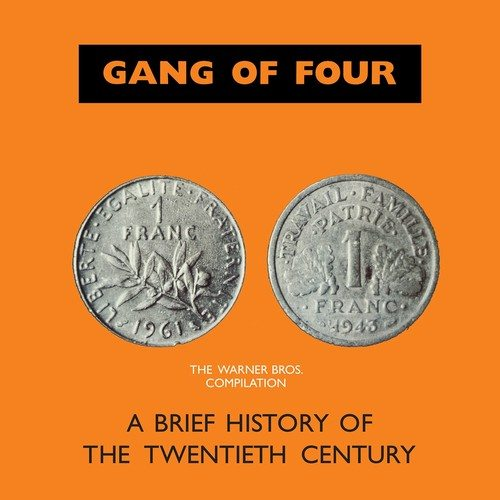 Gang Of Four - Brief History Of The Twentieth Century - Ltd Ed, 2XLP, Clear Vinyl, 2018