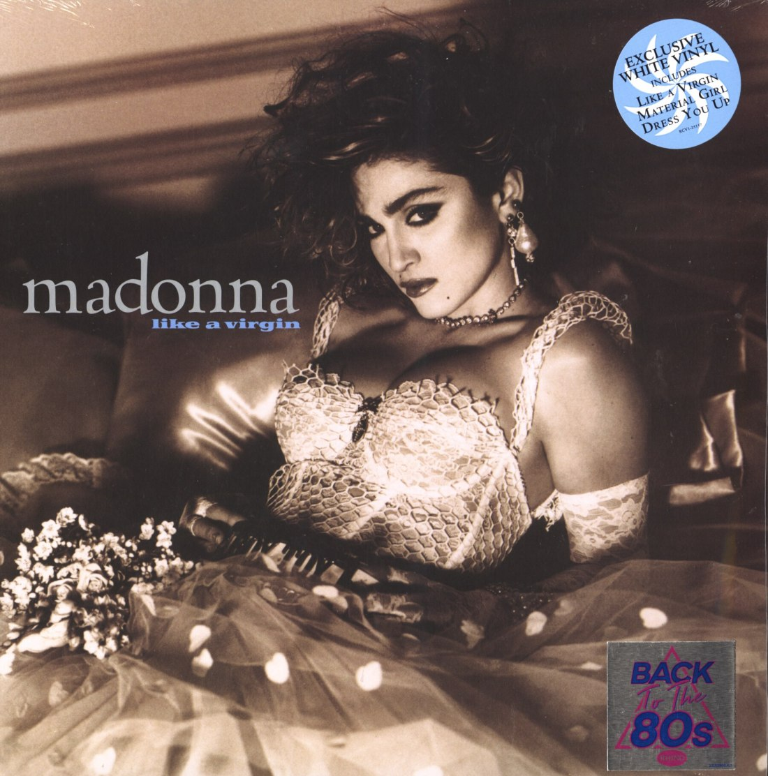 Madonna - Like A Virgin - Back To The 80s Exclusive, White Colored Vinyl, LP, 2018