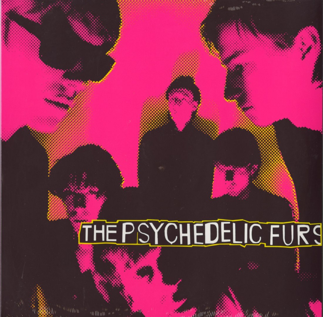 Psychedelic Furs - Self Titled - Reissue - Vinyl - LP