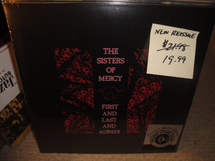The Sisters of Mercy - First & Last And Always - Vinyl, Reissue, Elektra, 2018