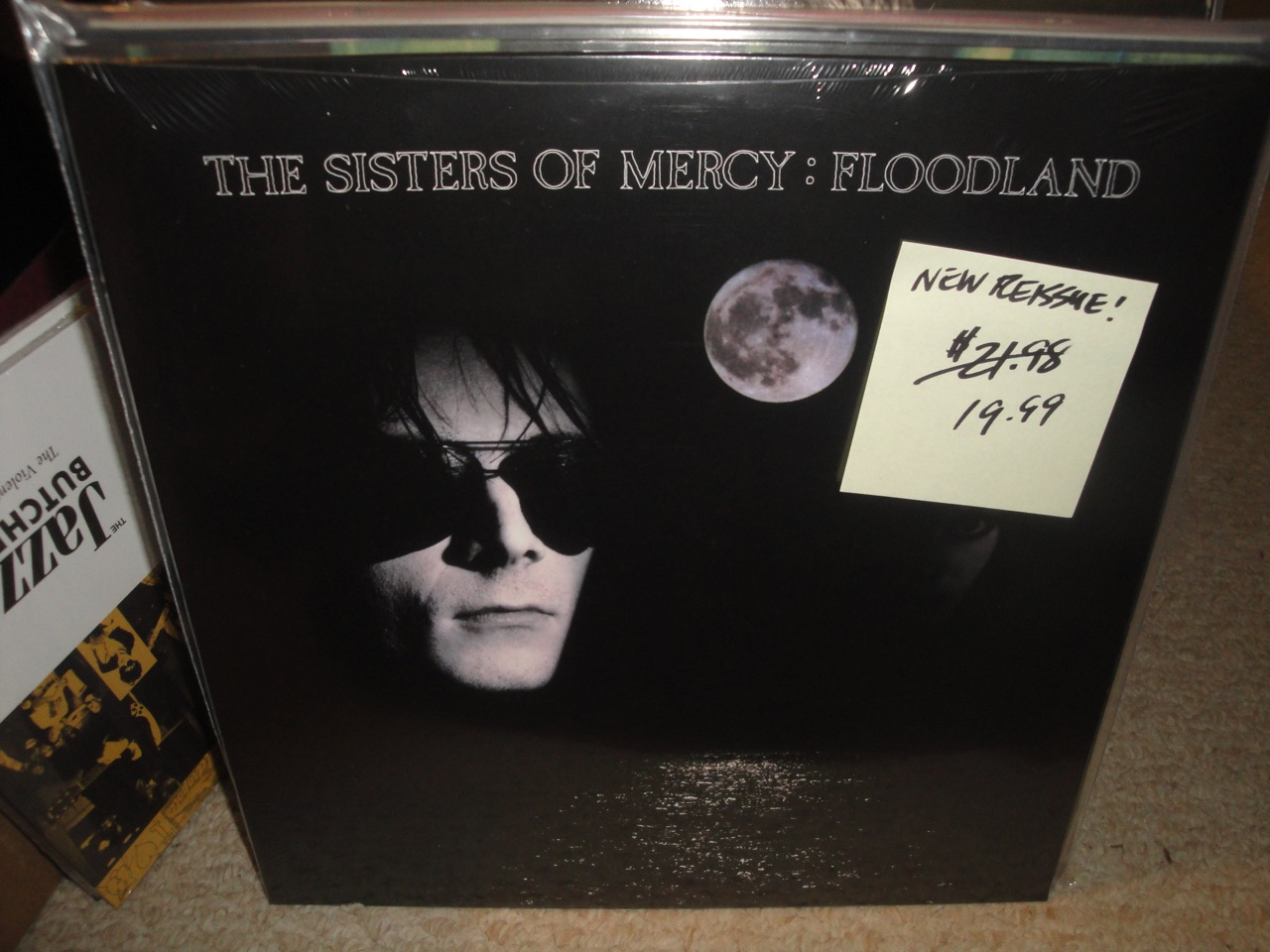 The Sisters of Mercy - Floodland - Vinyl, Reissue, Elektra, 2018