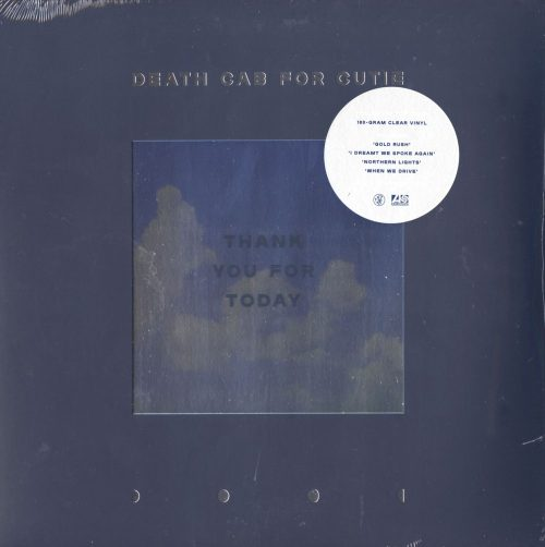 Death Cab For Cutie - Thank You For Today - Limited Edition, Clear, Colored Vinyl, Barsuk, 2018