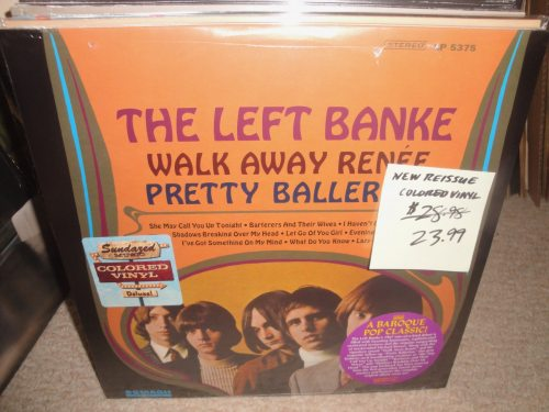 The Left Banke - Walk Away Renee / Pretty Ballerina - Gold, Colored Vinyl, 2018