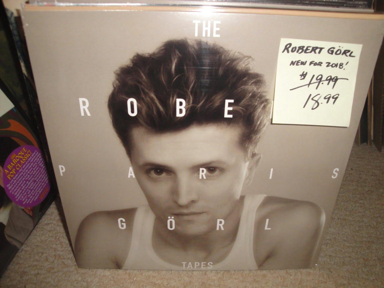 Robert Görl - The Paris Tapes - Vinyl, LP, DAF, Groenland, 2018