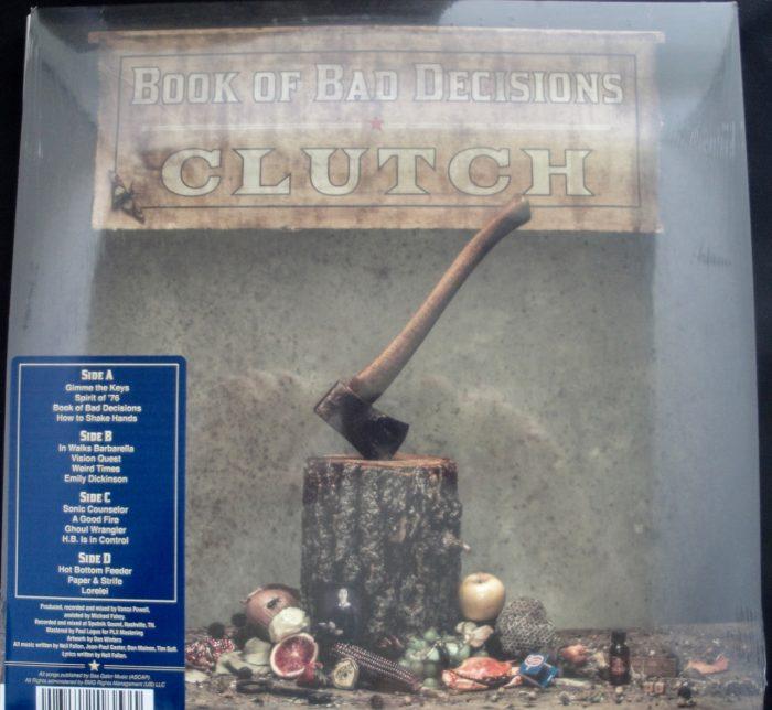Clutch - Book Of Bad Decisions - Ltd Ed 2XLP, Clear Vinyl, Gatefold, 2018