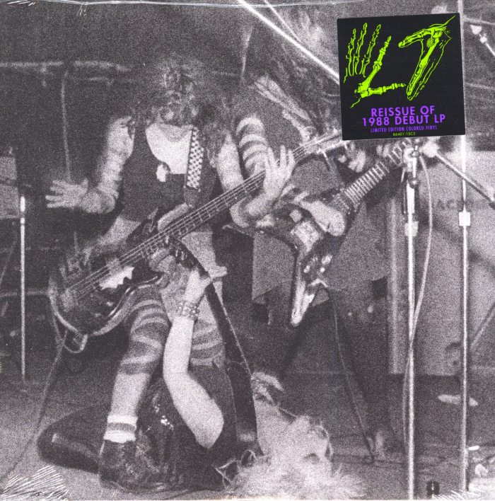 L7 - L7 - Limited Edition, Clear Vinyl, LP, Epitaph/Ada, Reissue, 2018