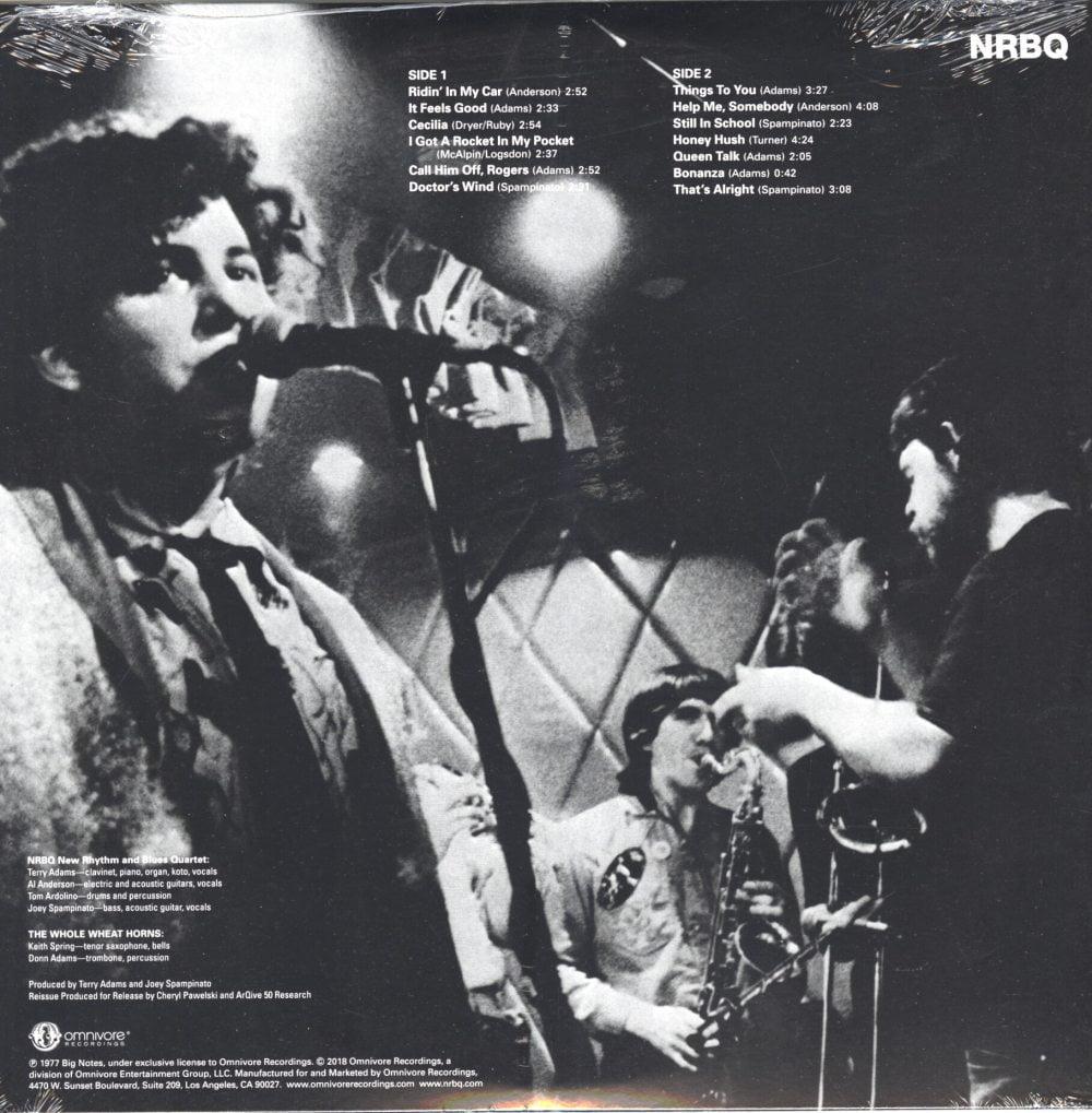 NRBQ - All Hopped Up - Vinyl, LP, Reissue, Omnivore Recordings, 2018