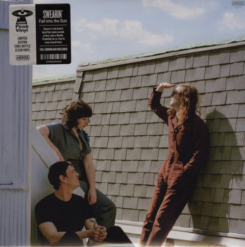 Swearin' - Fall Into The Sun - Limited Edition, Coke Bottle Clear, Colored Vinyl, Merge Records, 2018