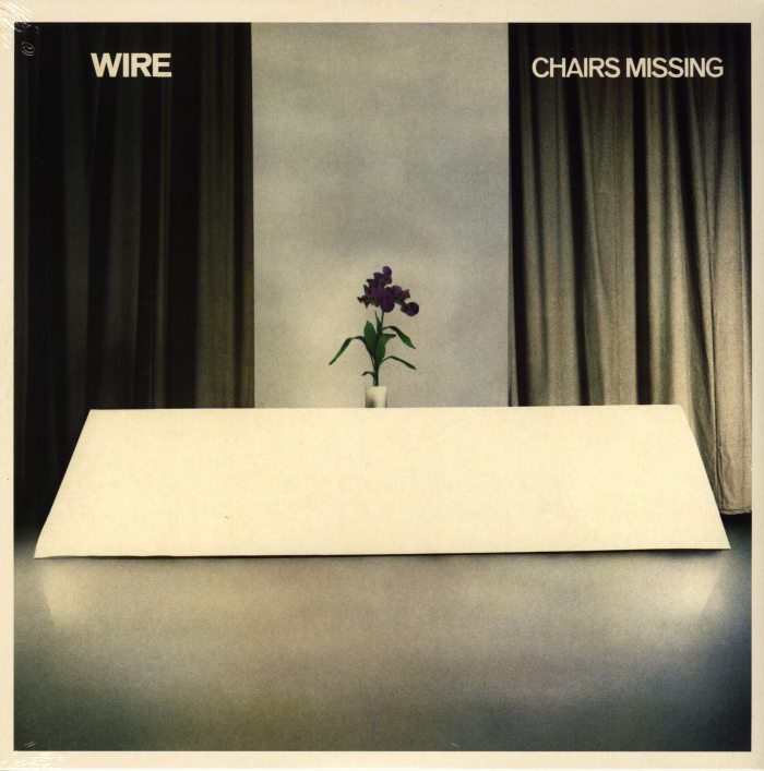 Wire - Chairs Missing - Vinyl, LP, Punk, Post-Punk, Reissue, PinkFlag, 2018
