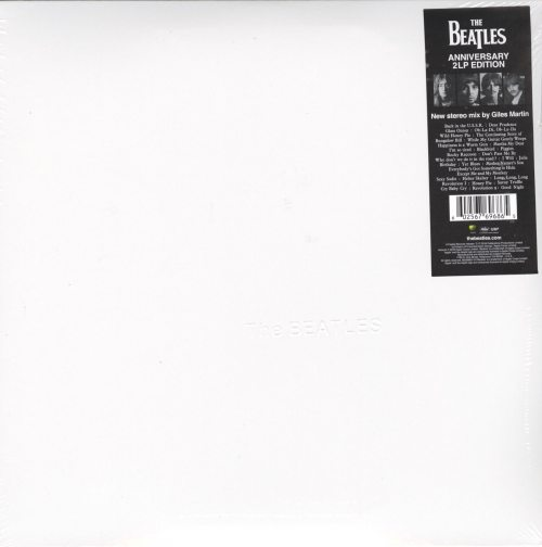 The Beatles (The White Album) - 180 Gram Double Vinyl LP, Remixed, Gatefold, 2018