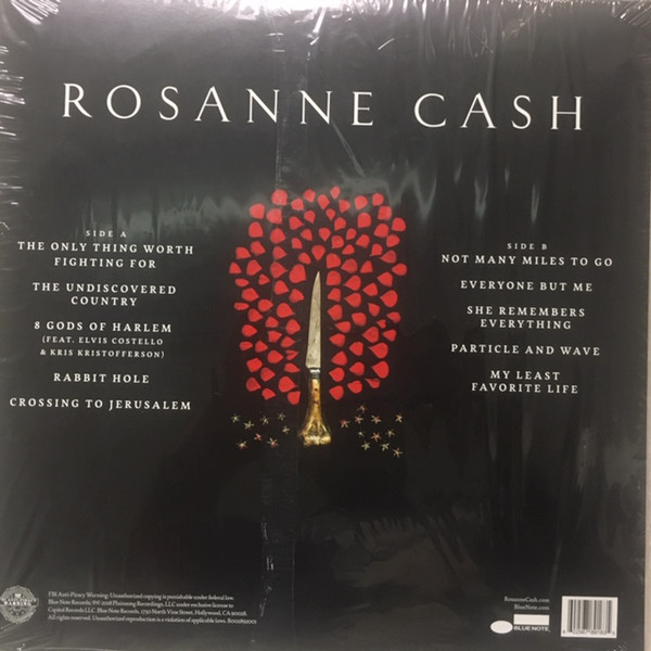 Rosanne Cash - She Remembers Everything - Limited Pink Colored Vinyl, Blue Note, 2018