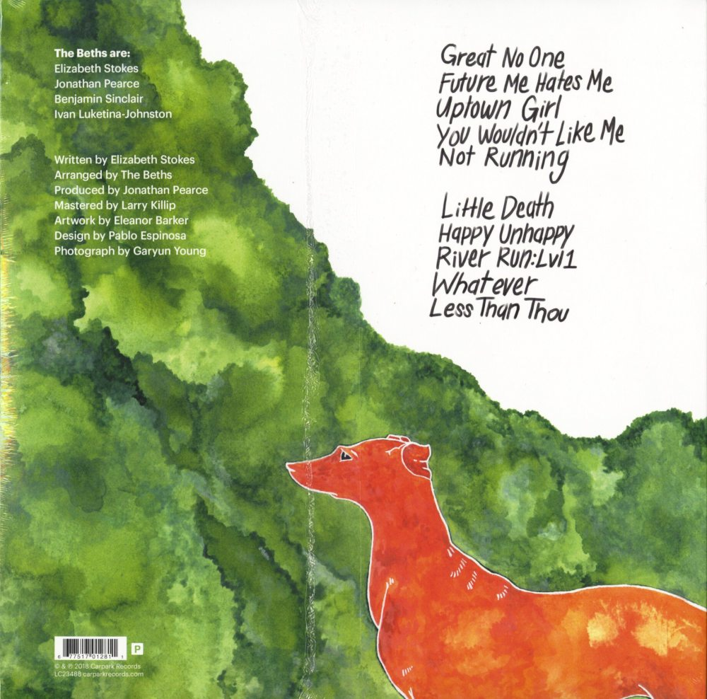 The Beths - Orange Vinyl