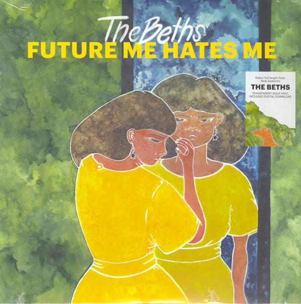 The Beths - Future Me Hates Me - Transparent Aqua Colored Vinyl, LP, Carpark, 2018