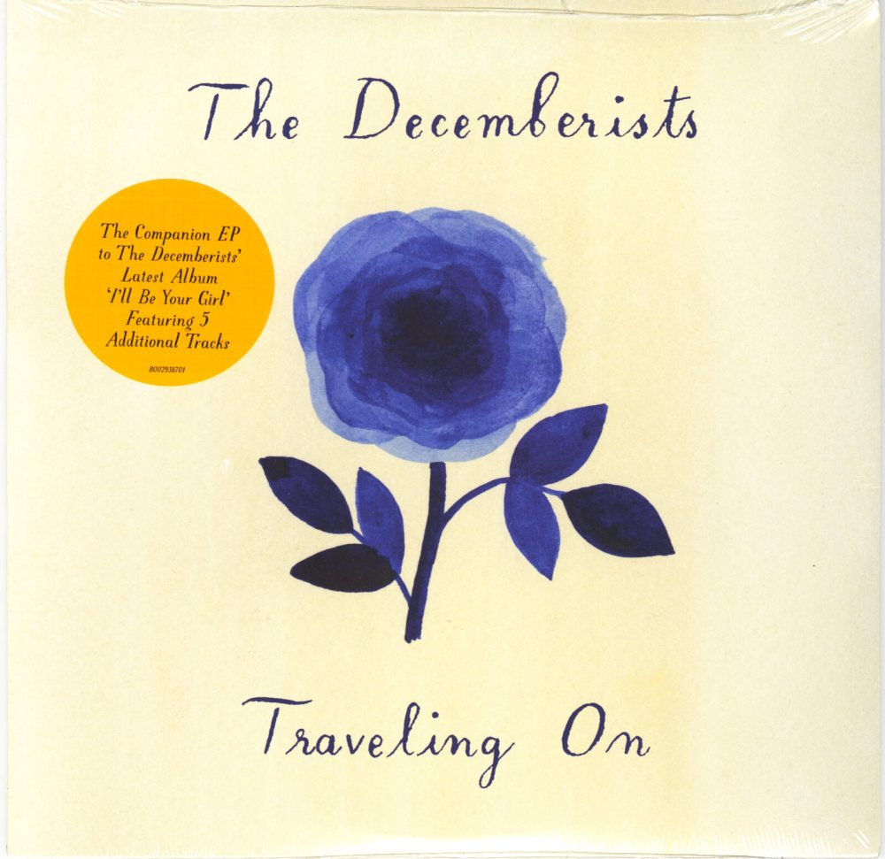 "The Decemberists - Traveling On - 10"" Vinyl, EP, 5 Songs, Capitol Records, 2018"