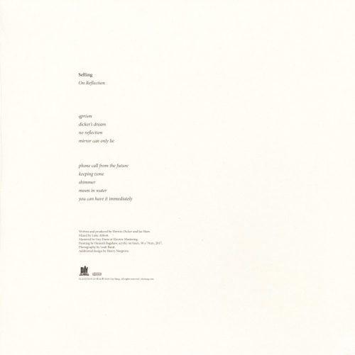 Selling - On Reflection - Ltd Ed, 140 Gram, Blue, Colored Vinyl, City Slang, 2018