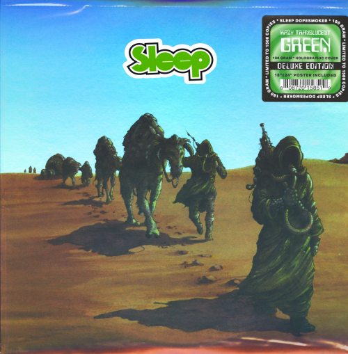 Sleep - Dopesmoker - Ltd Ed, 2XLP, Hazy Green Vinyl, Reissue, 2018